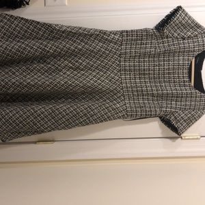 Talbots tweed dress